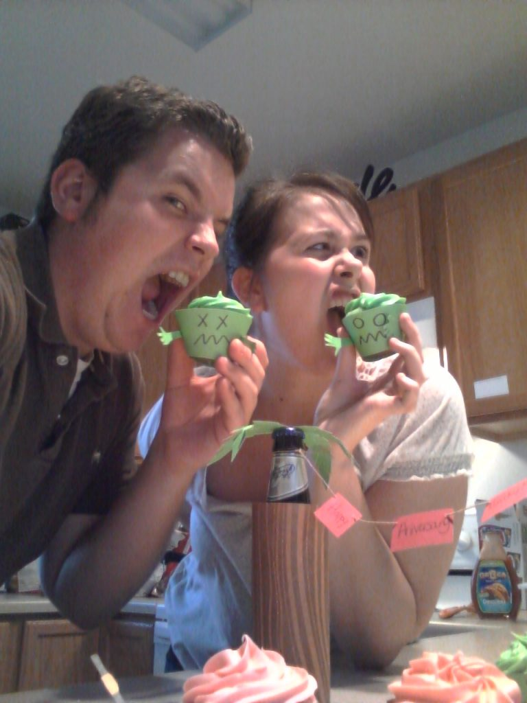 Best Zombie Cupcakes Ever