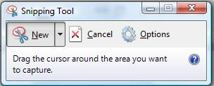 Microsoft Screen Shot Tool Snipping Tool